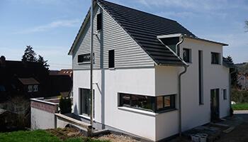 Fertiges Holzhaus