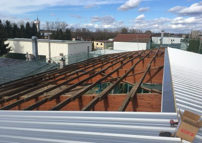 Bauflaschnerei Montage Dach