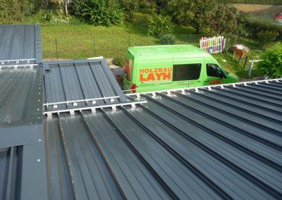 Bauflaschnerei fertiges Dach