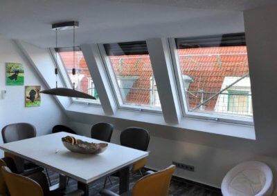 Dachfenster von Holzbau Layh von innen